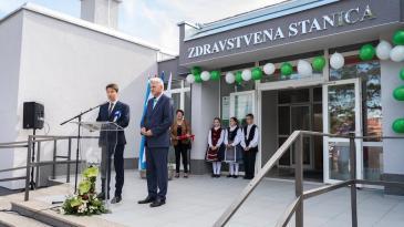 Otvorena obnovljena Zdravstvena stanica u Dražicama