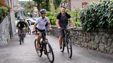 Biciklisti uživali u kastavskim šumama i mladom vinu