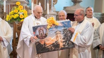 Mons. Ivoslav Linić proslavio 65. obljetnicu svećeništva