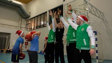 Košarkaši Škrljeva snage odmjerili s mladim Bakranima