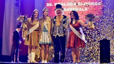 Dora Pilepić nova je kraljica Riječkog karnevala