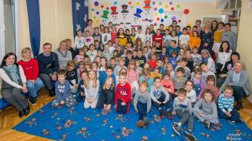Škrljevski mališani proslavili 101. rođendan Ljube Pavešića