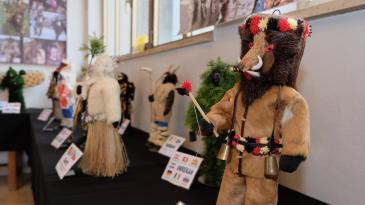 Atraktivna izložba zvončara i tradicijskih maski na Čavji