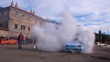 Vatreno finale 29. Maškaranog auto rallya Pariz- Bakar