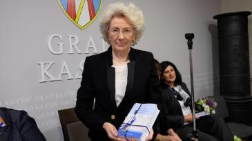 Nagrada Grada Kastva za životno djelo Cvjetani Miletić
