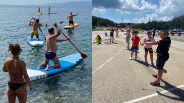 "Festival sportske rekreacije s Platka se ""spustio"" do mora"