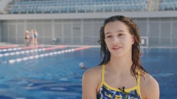 Mlada plivačica Petra Mance ja Kastavka kolovoza 2020.