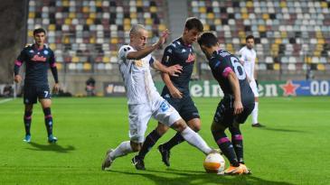 Nogometaši Rijeke namučili jaki Napoli i ostali bez bodova