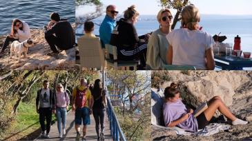 Sunčana nedjelja u Kostrenu privukla mnoštvo posjetitelja