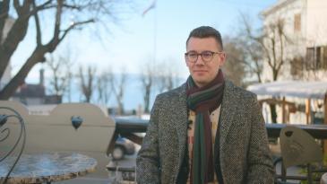 Čakavac Sven Sušanj je Kastavac studenog 2020.