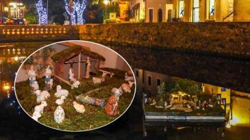 Svome Bakru za Božić udruge poklonile jaslice na vodi