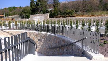 Blagoslovom otvoren novi dio groblja u Kostreni Sv. Luciji