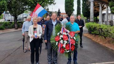 Dana pobjede i domovinske zahvalnosti obilježen u Kastvu