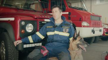 Vatrogasac Zoran Ravnić je Kastavac srpnja 2021.
