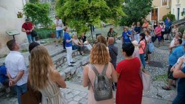 Interpretacijska šetnja Bakrom za poljske turiste