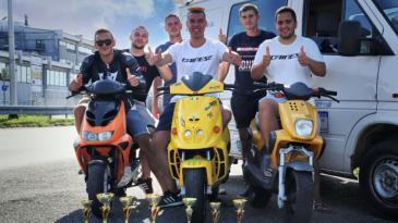 Debitanti iz Šmrike najbolji u Hrvatskoj u moto slalomu