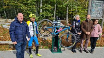 Platak dobio korisnu stanicu za popravak bicikala