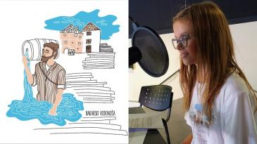 Slijepi bakarski vodonoša Ivan Čop u zvučnoj slikovnici